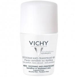 VICHY Deodorant Roll-On 48h, Αποσμητικό Για Ευαίσθητες Επιδερμίδες - 50ml
