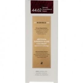 KORRES Βαφή Μαλλιών Abyssinia Superior Gloss Colorant Καστανό Έντονο Κόκκινο Βιολετί 44.62 50ml