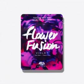 ORIGINS Flower Fusion Sheet Mask Violet, Μάσκα Προσώπου Βιολέτα -1τμχ