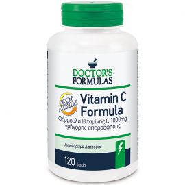 DOCTOR΄S FORMULAS Vitamin C Fast Action 1000mg 120tabs