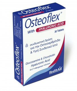 HEALTH AID Osteoflex Με Υαλουρονικό Οξύ 30Tabs