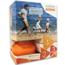 A-DERMA Set Protect Kids Lait Αντηλιακό Παιδικό Γαλάκτωμα για Πρόσωπο και Σώμα SPF50+ 250ml & Δώρο Παιδικό Παγούρι