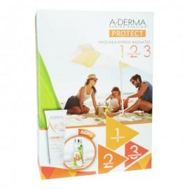 A-DERMA Σετ Protect Kids, Children Lotion SPF50+, Παιδικό Αντηλιακό Γαλάκτωμα - 250ml & ΔΩΡΟ Παιδικό Παγούρι