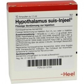 HEEL Hypothalamus Suis-Injeel 10 amps