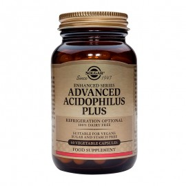 SOLGAR Advanced Acidophilus Plus - 60veg.caps