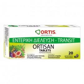 ORTIS Ortisan, Φυτικό Υπακτικό Ήπια δράσης 20tabs