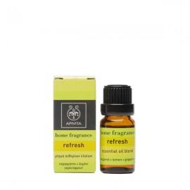 APIVITA Home Fragrance Αιθέριο Έλαιο Refresh 10ml