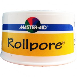 MASTER AID Rollpore - Χάρτινη Επιδεσμική Ταινία σε Ρολλό 5m x 2.50cm