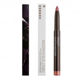 KORRES Twist Eyeshadow ,Volcanic Minerals, 68 Golden Pink - 1.4gr