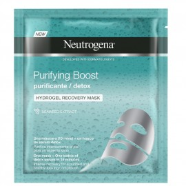 NEUTROGENA Purifying Boost Hydrogel, Μάσκα Αναδόμησης - 30ml