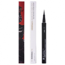 KORRES  Minerals Αδιάβροχο Eyeliner σε Mορφή Mαρκαδόρου 01 Black 1ml