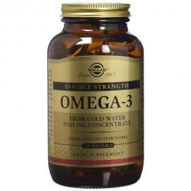 SOLGAR Omega -3 double strength - 120softgels