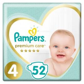 PAMPERS Premium Care No 4 (9-14kg) - 52τμχ