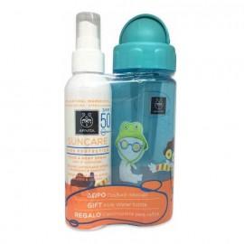 APIVITA Suncare Παιδικό Αντηλιακό Spray Προσώπου- Σώματος με Αλόη & Καλέντουλα SPF50 150ml & ΔΩΡΟ Παγούρι