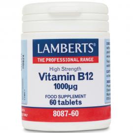 LAMBERTS Vitamin B12 1000mg - 60tabs