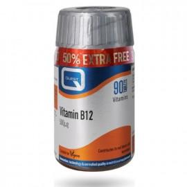 QUEST Vitamin B12 500MG για Δυνατή Καρδιά +50% Επιπλέον Προϊόν 90Tabs
