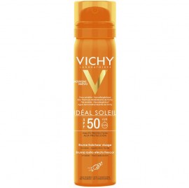 VICHY Ideal Soleil Αντηλιακό Mist Προσώπου SPF50 - 75ml