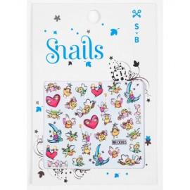 SNAILS Story Telling Stickers Παιδικά Αυτοκόλλητα Νυχιών
