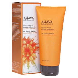 AHAVA Deadsea Water Mineral Shower Gel with Mandarin & Cedarwood 200ml