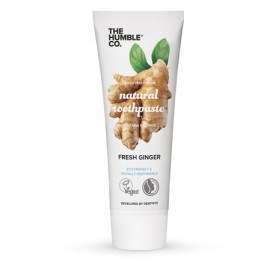THE HUMBLE CO Natural Toothpaste Ginger, Φυσική Οδοντόκρεμα Τζίντζερ - 75ml