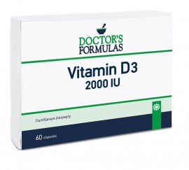 DOCTOR΄S FORMULAS Vitamin D3 2000IU - 60καψ