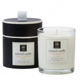 APIVITA Natural Candle Orange,Cedarwood & Clove 235gr