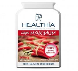 HEALTHIA Caps Maximum 500mg - 90 κάψουλες