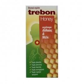 UNI-PHARMA Trebon Honey, Σιρόπι για Ξηρό Βήχα και Πονόλαιμο - 100ml