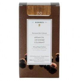 KORRES Βαφή Argan Oil 7.0 Ξανθό Φυσικό - 50ml