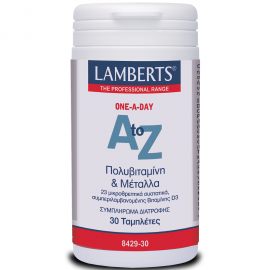 LAMBERTS A to Z Πολυβιταμίνη 30tabs