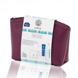 GARDEN Beauty Bag Set No4 - Ενυδατική Κρέμα & Ενυδατικός Ορός & Κρέμα Ματιών & Micellar Water