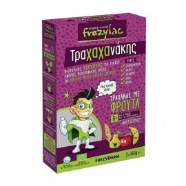 FREZYLAC Τραχαχανάκης Βιολογικός Τραχανάς με Φρούτα - 2x165gr