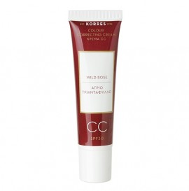 KORRES Wild Rose, Άγριο Τριαντάφυλλο, Colour Correcting Cream SPF30 Medium Shade - 15ml