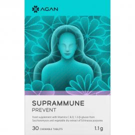 AGAN Suprammune Prevent Συμπλήρωμα για την Προστασία & Αντιμετώπιση του Κρυολογήματος 30 tabs