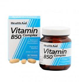 HEALTH AID B50 Complex 30Tabs