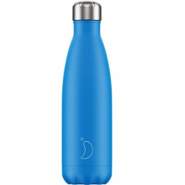 CHILLY'S BOTTLES Μπουκάλι- Θερμός, Neon Blue - 500ml