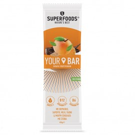SUPERFOODS Your Bar, Ενεργειακή Μπάρα Υπερτροφών, Βερίκοκο - 45gr