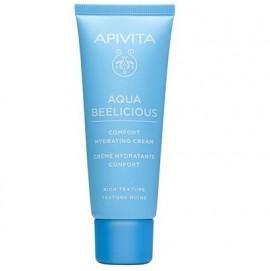 APIVITA Aqua Beelicious Απαλή Κρέμα Ενυδάτωσης Πλούσιας Υφής - 40ml