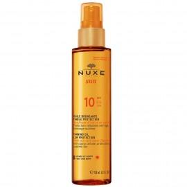 NUXE Sun Tanning Oil Low Protection SPF10, Λάδι Μαυρίσματος για Πρόσωπο & Σώμα - 150ml