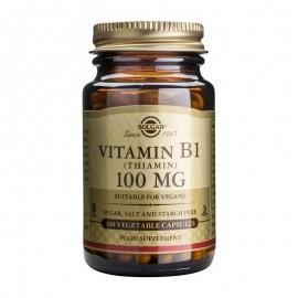 SOLGAR Vitamin Β1 (Θειαμίνη ) 100mg -100veg.caps