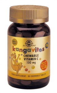 SOLGAR Kangavites Chewable Vit C, 100mg - 90ch.tabs