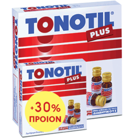 TONOTIL Plus 10 Αμπούλες Και ΔΩΡΟ 30% Επιπλέον Προϊόν