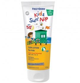 FREZYDERM Kids Sun + Nip SPF50+, Παιδικό Αντηλιακό- Εντομοαποθητικό - 175ml