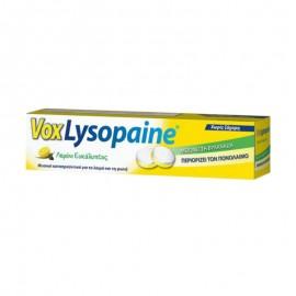 VOX LYSOPAINE - Λεμόνι Ευκάλυπτος Για Τη Βραχνάδα Και Τον Πονόλαιμο 18 Παστίλιες