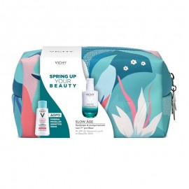 VICHY Σετ Spring Up Your Beauty, Slow Age Fluid SPF25 για Καν/Μικτή Επιδερμίδα - 50ml & Δώρο Νεσεσέρ & Mineral Micellar Water - 100ml