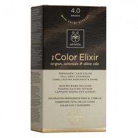 APIVITA My Color Elixir, Βαφή Μαλλιών No 4.0- Καστανό