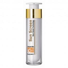 FREZYDERM Sun Screen Velvet Face Cream SPF50+, Αντηλιακή Κρέμα Προσώπου - 50ml