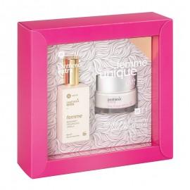 PANTHENOL Extra Femme Unique Gift Set, Eau De Toilette - 50ml & Day Cream SPF 15 - 50ml