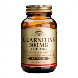 SOLGAR  L-Carnitine 500mg - 30tabs