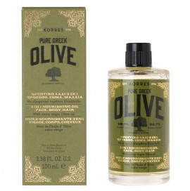 KORRES Pure Greek Olive Θρεπτικό Λάδι 3 Σε 1 - Πρόσωπο, Σώμα, Μαλλιά 100ml